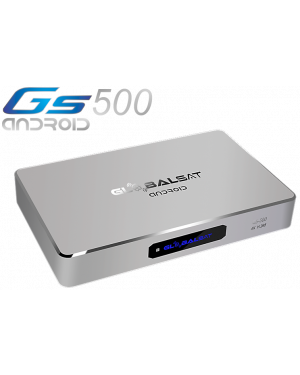 Globalsat  GS 500 Android Ultra HD 4K -  Ondemand Quad Core