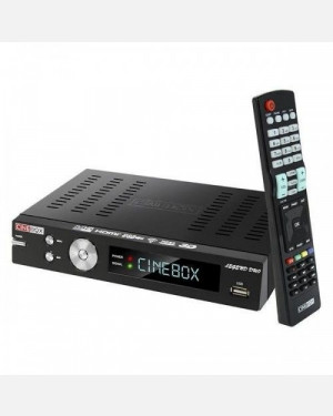 Receptor Cinebox Legend Duo HD - Full HD iptv Iks Sks Wifi 3D 3G
