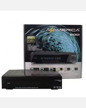 Azamerica S1001 Twin Tunner IKS SKS CS IPTV Full HD 1080p