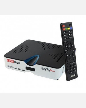 Receptor Fantasia Duo Cinebox - Full HD Iptv 3D iks sks